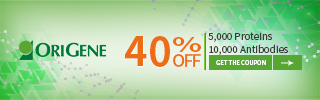 40% off proteins and antibodies